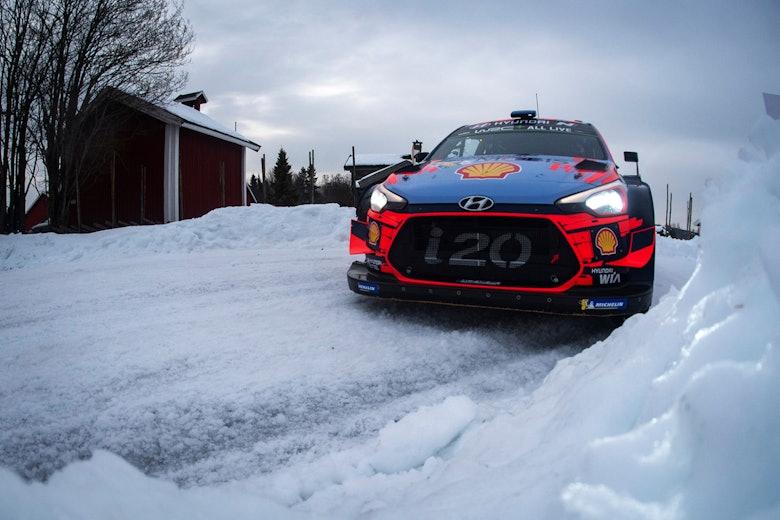 Thierry Neuville Hyundai Rally Sweden WRC 2019