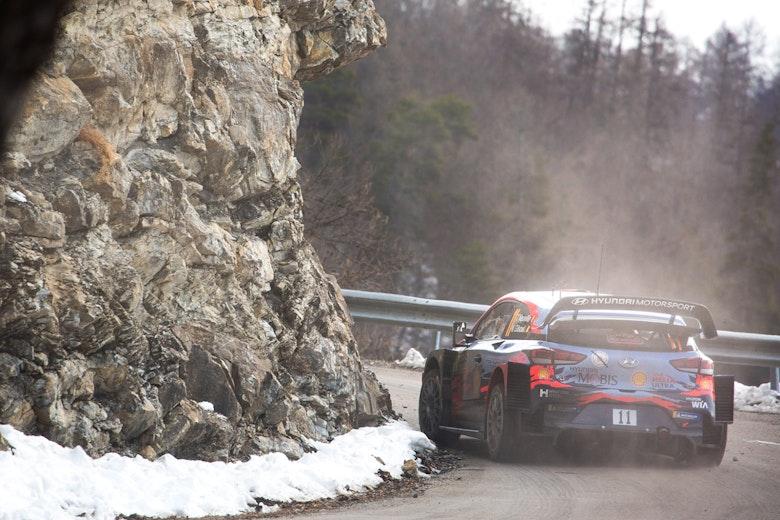 Thierry Neuville Hyundai WRC Monte Carlo Rally 2020