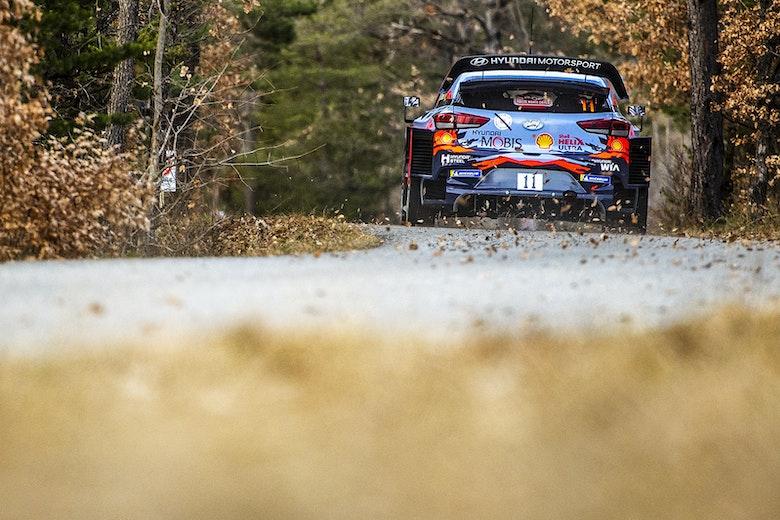 Thierry Neuville Hyundai Monte Carlo Rally 2020