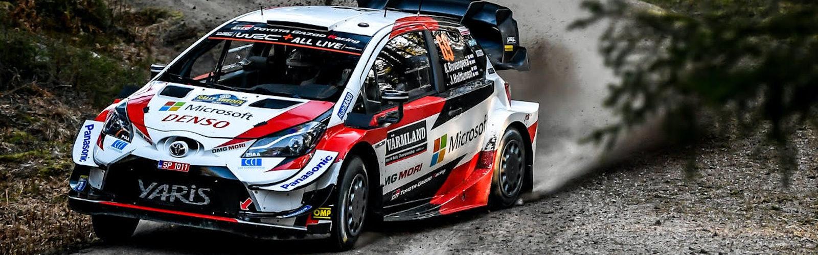 Toyota WRC Rally Sweden 2020