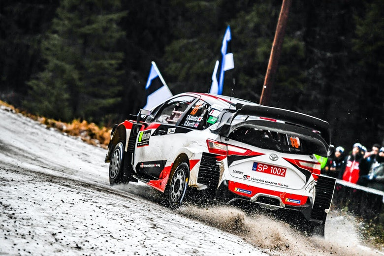 Takamoto Katsuta Toyota WRC Rally Sweden 2020