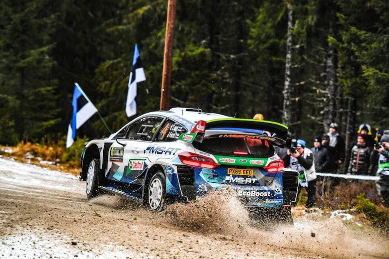 Lappi M-Sport Rally Sweden