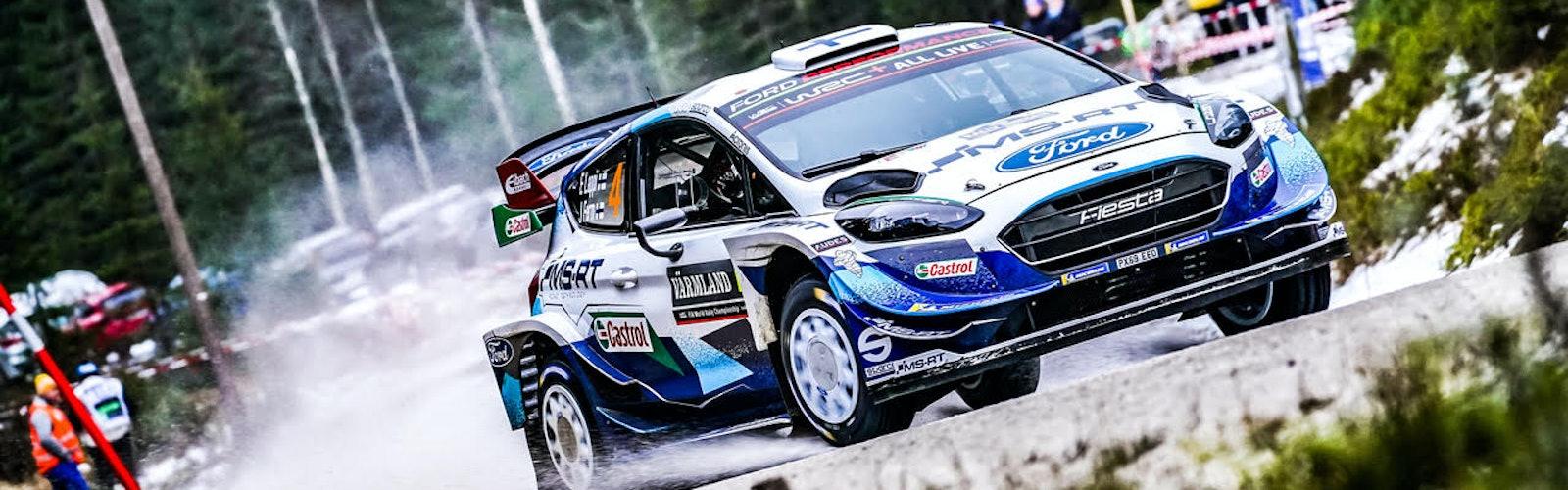 Esapekka Lappi M-Sport Ford Rally Sweden WRC 2020